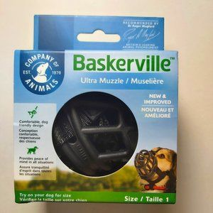 *3/$55* Baskerville Ultra Muzzle for Dogs Size 1